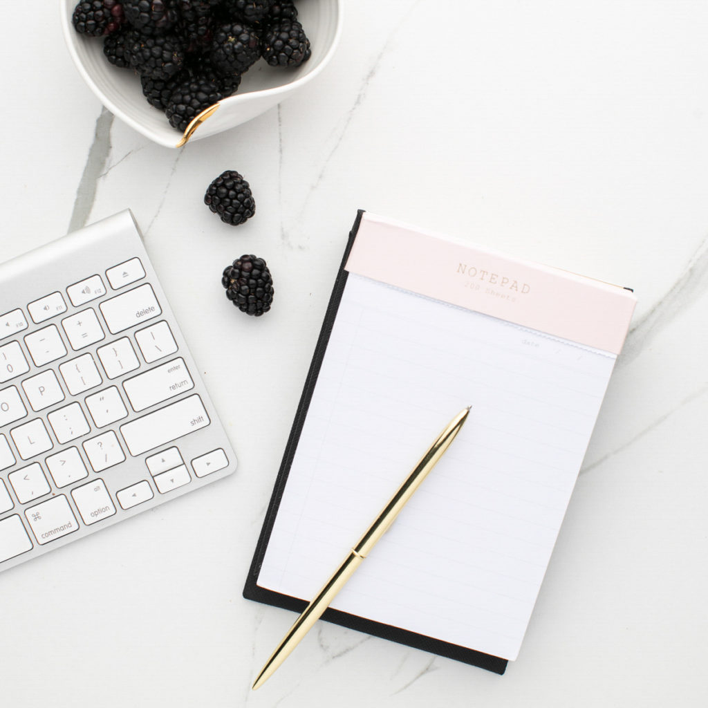 Computer Keyboard, Notepad